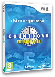 Countdown: The Game Wii cover (R54FMR)
