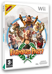 Farmyard Party: Featuring the Olympigs Wii cover (R5OXUG)