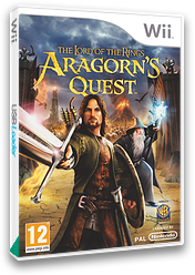 The Lord of the Rings: Aragorn's Quest Wii cover (R8JPWR)