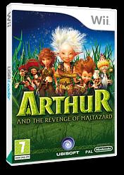 Arthur and the Revenge of Maltazard Wii cover (R8RP41)