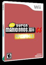 New Super Mario Bros. Wii 0-6 Radiance CUSTOM cover (RADP01)