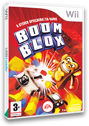Boom Blox Wii cover (RBKP69)