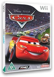 Cars Wii cover (RCAX78)