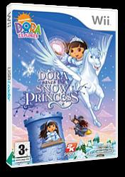 Dora Saves the Snow Princess Wii cover (RDPP54)