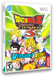 Dragon Ball Z Budokai Tenkaichi 3 Version! Latino CUSTOM cover (RDSZ70)