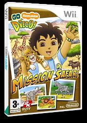 Go, Diego, Go! Safari Rescue Wii cover (REQY54)