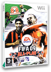 FIFA 09 All-Play Wii cover (RF9Y69)