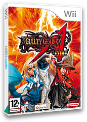 Guilty Gear XX Accent Core Wii cover (RG2PGT)