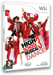 High School Musical 3: Senior Year Dance! Wii cover (RH3P4Q)