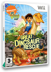 Go, Diego, Go! Great Dinosaur Rescue Wii cover (RIGP54)