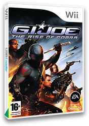 G.I. JOE: The Rise of Cobra Wii cover (RIJP69)