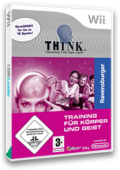 Think Logic Trainer Wii cover (RJ9FMR)