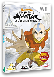 Avatar: The Legend of Aang Wii cover (RLVP78)