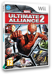 Marvel: Ultimate Alliance 2 Wii cover (RMSP52)