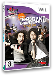 The Naked Brothers Band: The Video Game Wii cover (RN5P78)
