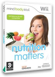 Mind, Body & Soul: Nutrition Matters Wii cover (RNIPGT)