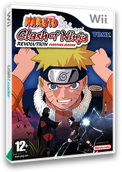 Naruto: Clash of Ninja Revolution Wii cover (RNXPDA)