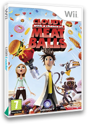 Cloudy with a Chance of Meatballs Wii cover (ROYP41)