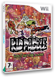 Kid Paddle: Lost in the Game Wii cover (RPAF70)
