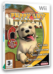 Puppy Luv: Your New Best Friend Wii cover (RPTP52)
