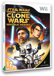 Star Wars The Clone Wars: Republic Heroes Wii cover (RQLP64)