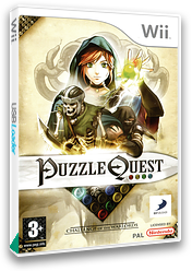 Puzzle Quest: Challenge of the Warlords Wii cover (RQWPG9)
