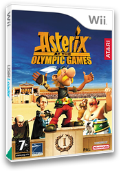 Asterix at the Olympic Games Wii cover (RQXP70)