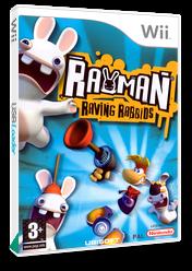 Rayman Raving Rabbids Wii cover (RRBP41)