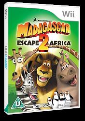 Madagascar 2: Escape 2 Africa Wii cover (RRGP52)