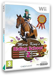 Mary King's Riding School 2 Wii cover (RRHPUJ)