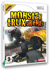Monster Trux Arenas Wii cover (RRXPUG)
