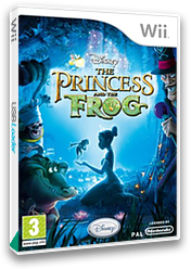 Disney: The Princess and the Frog Wii cover (RU5X4Q)