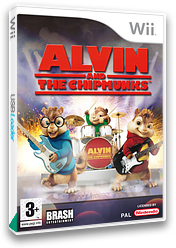 Alvin and the Chipmunks Wii cover (RVBPRS)