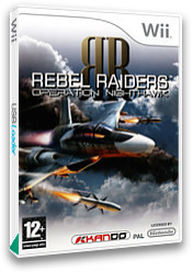 Rebel Raiders: Operation Nighthawk Wii cover (RVRPKG)