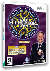 Who Wants To Be A Millionaire: 2nd Edition Wii cover (RW5P41)