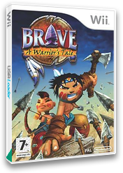 Brave: A Warrior's Tale Wii cover (RWXPS5)