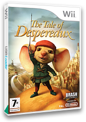 The Tale of Despereaux Wii cover (RXRXRS)