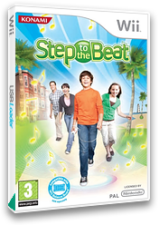 Step to the Beat Wii cover (RY6PA4)