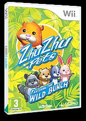 Zhu Zhu Pets: Featuring the Wild Bunch Wii cover (S2ZP52)