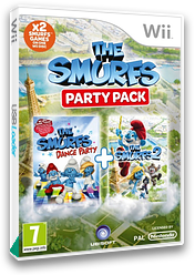 The Smurfs Party Pack Wii cover (S7SP41)