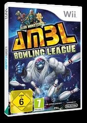 Alien Monster Bowling League Wii cover (SABPJG)
