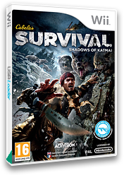 Cabela's Survival: Shadows of Katmai Wii cover (SAJP52)