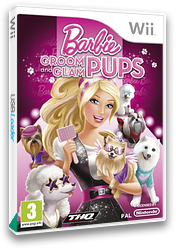 Barbie: Groom and Glam Pups Wii cover (SB9P78)