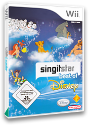 SingItStar Best of Disney CUSTOM cover (SBOD3Q)
