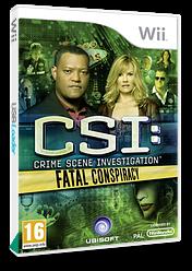 CSI:Fatal Conspiracy Wii cover (SCIP41)