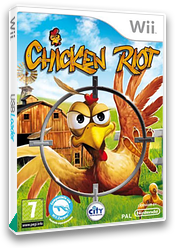 Chicken Riot Wii cover (SCRPJH)