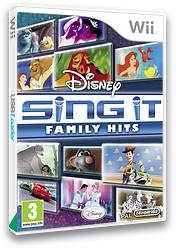 Disney Sing It: Family Hits Wii cover (SDFP4Q)