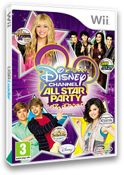 Disney Channel: All Star Party Wii cover (SDGP4Q)
