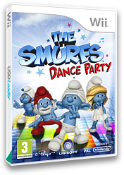 The Smurfs: Dance Party Wii cover (SDUP41)