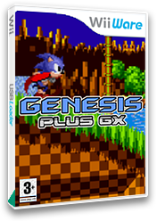 Genesis Plus GX Homebrew cover (SEGA)